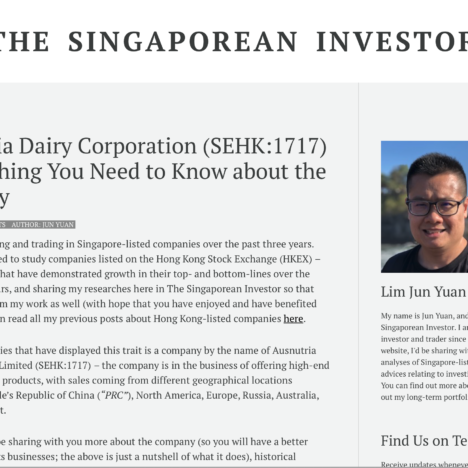 Ausnutria Dairy Corporation (SEHK:1717) – Everything You Need to Know about the Company
