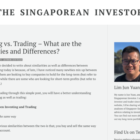 Investing vs. Trading – What are the Similarities and Differences?