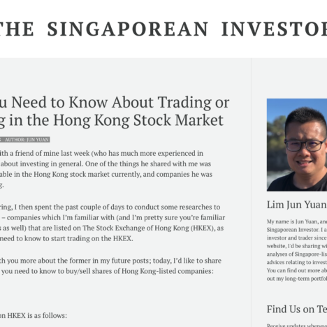 What You Need to Know About Trading or Investing in the Hong Kong Stock Market